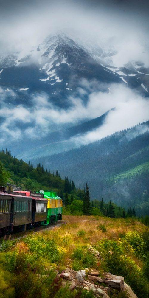 White Pass Yukon Route, Alaska Railroad Travel Photography
