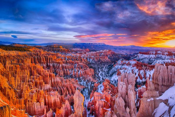 Winter Sunrise Bryce National Park