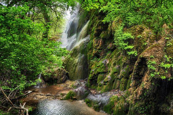 Gorman Falls Colorado Bend Texas Landscape Photography
