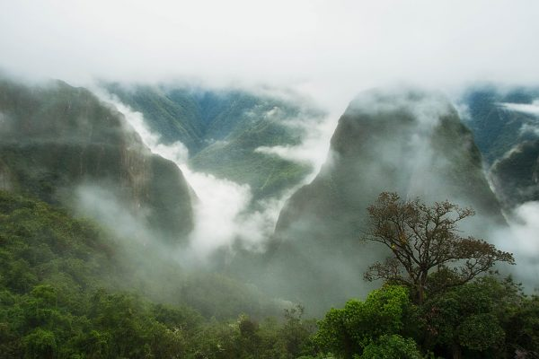 Machu Picchu Andes Mountains Landscape Photography