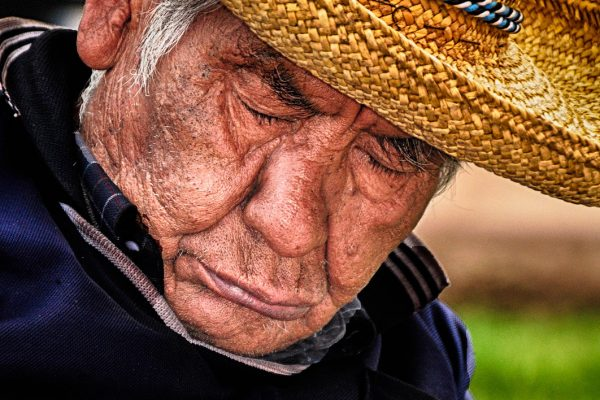 Old Man Cusco Peru Travel Photography